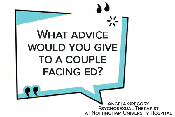 What advice would you give to a couple facing ed