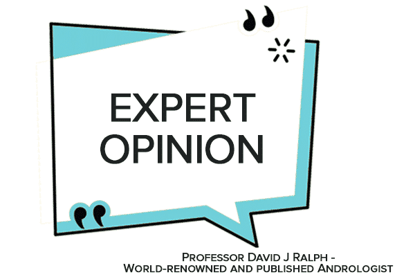 Expert Opinion from David Ralph Andrologist