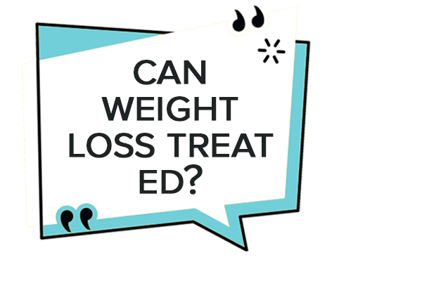can weight loss treat ed